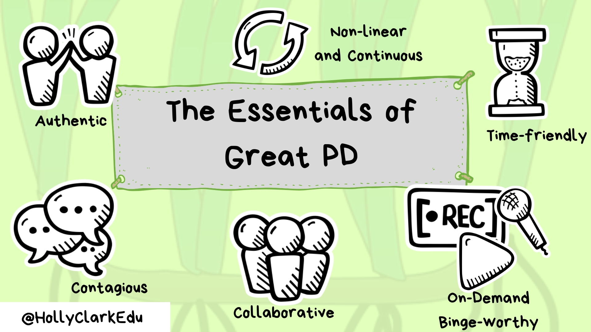 How Teachers Can Find Time For Social >> The Essentials Of Great Pd How Educators Are Reimagining